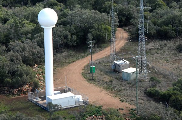 Weather Watch Radar Tower - Gunnedah