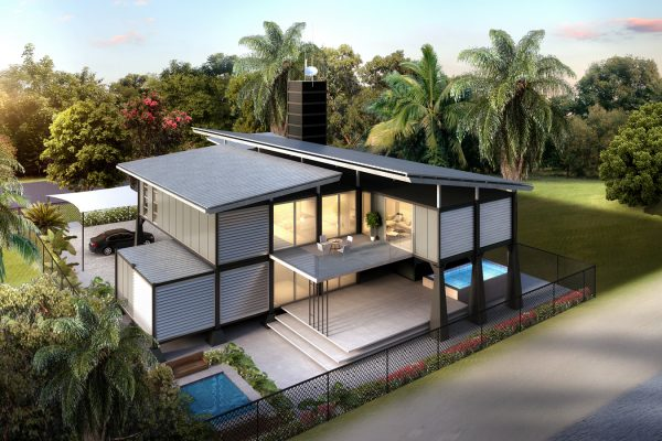 Concept Designs For Government Offshore Modular Residential Project